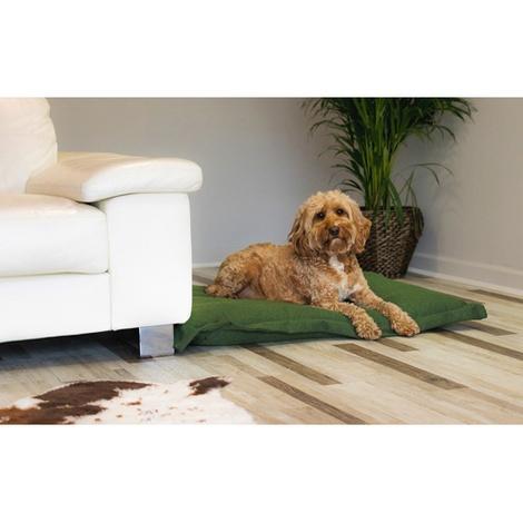 Stonewashed fabric cushion bed - Richmond 4
