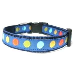 Polka Dot Small Dog Collar