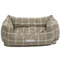 Slate Tweed Boxy Bed