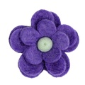 Bloom Cat Collar Flower Accessory - Lavender & Duck Eg 2