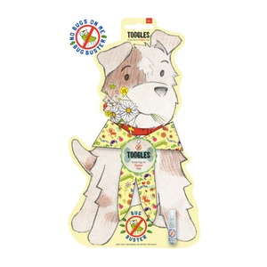 Bug Buster Dog Bandana & Bug Spray