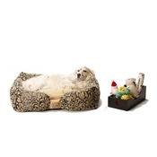 Katalin zu Windischgraetz - Attraction Dog Bed - Oak Beige Chenille