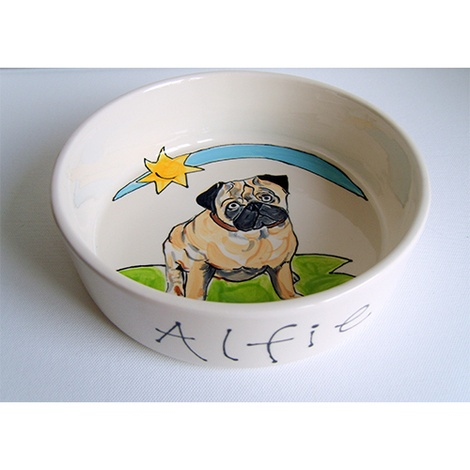 Large Personalised Dog Bowl 3