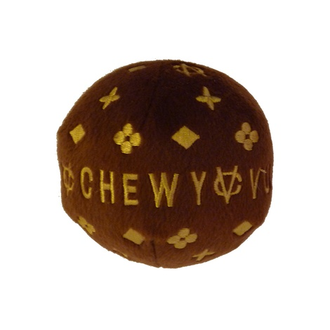 Large Chewy Vuitton Dog Ball