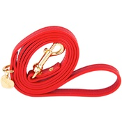 Chihuy - Red and Gold Luxury Leather Lead