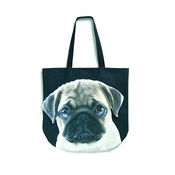 DekumDekum - Tootsie the Pug Dog Bag