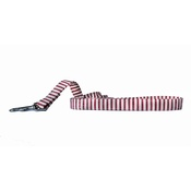 Arton & Co - Red & Cream Stripe Dog Lead
