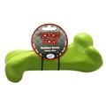 Tough Toys Supersize Rubber Bone – Green