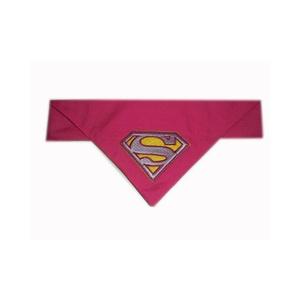 Superpup Supergirl Bandana - Pink