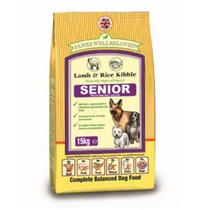Senior Lamb & Rice Dog Food