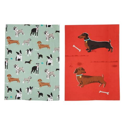 Dog Tea Towel Set
