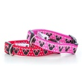 "Minnie Mouse Pink Dog Collar 1"" Width 2"