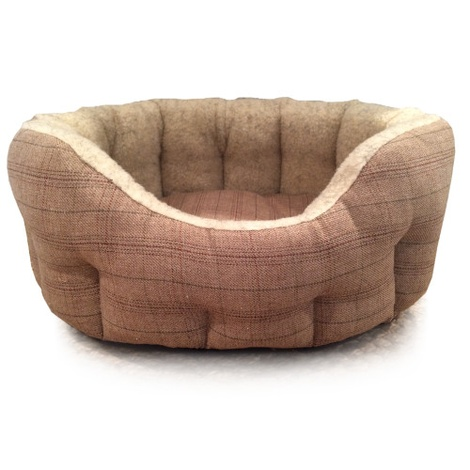 Windsor Tweed Dog Bed