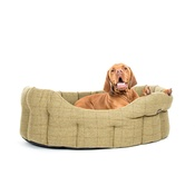 Country and Twee - Tweed Oval Dog Bed