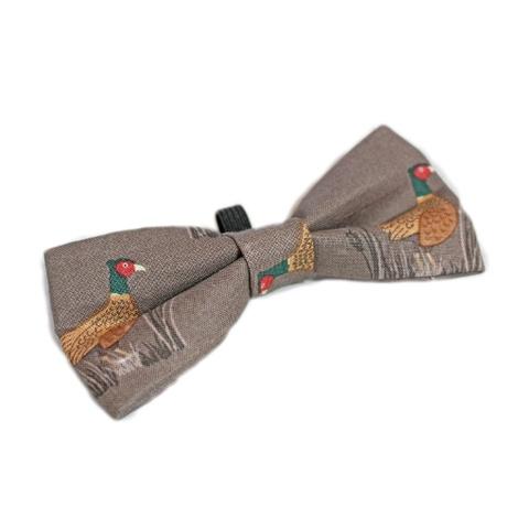 Pheasant Bow Tie