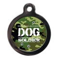 Dog Soldier Pet ID Tag