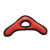 Tuff Enuff - Tuff Boomerang Squeaky Dog Toy - Red