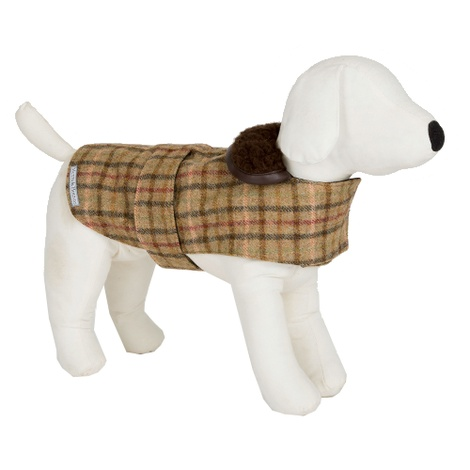 Balmoral Tweed Dog Coat 2