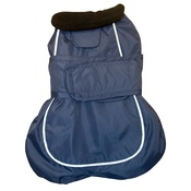 Go Walk - Go Walk 2-in-1 Thermal Dog Coat – Navy