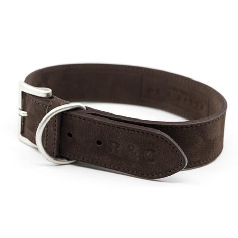 Nubuck dog collar - Bergamo 4