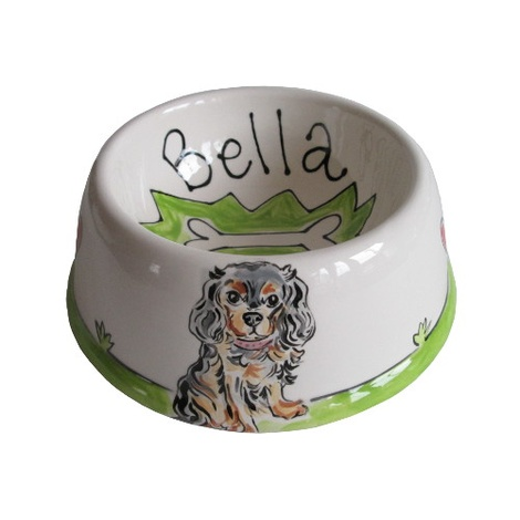 Small Personalised Dog Bowl 5