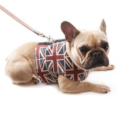 Mutts & Hounds - Union Jack Linen Dog Harness