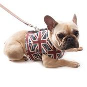 Mutts & Hounds - Union Jack Linen Dog Harness