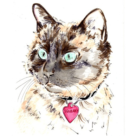 Personalised Pet Portrait 3