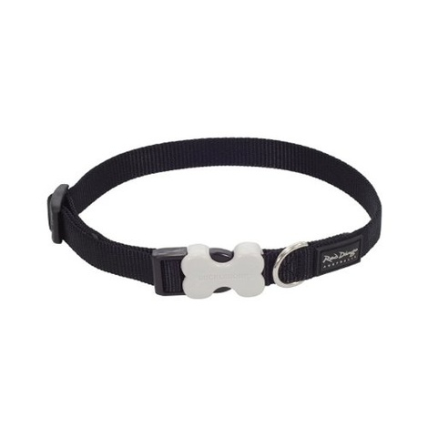 Plain Dog Collar - Black