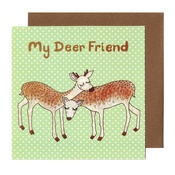 Kate Garey - Deer Friend Card