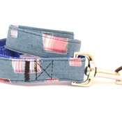Pet Pooch Boutique - Denim Patch Lead