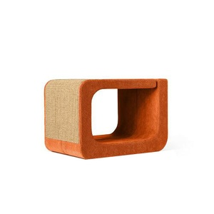 Scratching Post - Letter O - Orange