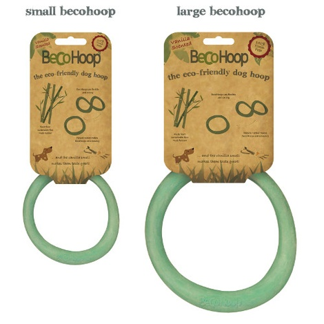 BecoHoop Dog Toy - Green 2
