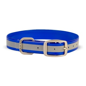 Koa Waterproof Dog Collar – Reflex Blue