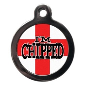 PS Pet Tags - I'm Chipped St George Pet ID Tag