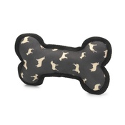 House of Paws - Silhouette Print Squeaky Dog Bone Toy