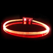 Red Dingo - Lumitube Light Up Dog Collar - Red