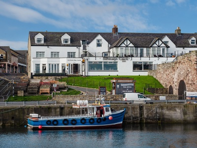 The Bamburgh Castle Inn, Northumberland, Seahouses