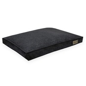 Bowl&Bone Republic - Loft Cushion Dog Bed - Graphite