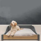 The English Cabinet Company - LUXURY WOODEN DOG BED - LARGE