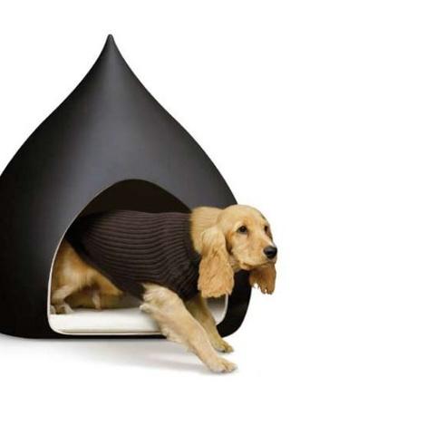 Castagne Ceramic Dog House