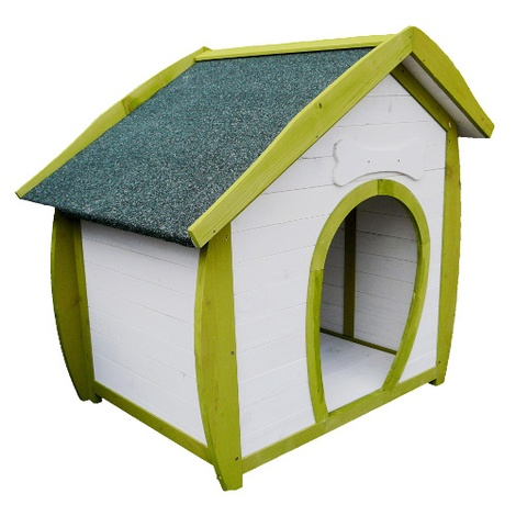 The Woofing-Dale Wooden Dog House 2