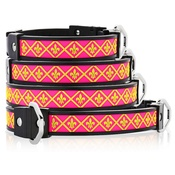 Cool Dog Club - Cool Dog K9 Striker MK1 Fleur De Lis Pink Dog Collar
