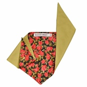 Baker & Bray - Summer Rose Dog Bandana – Black Rose & Seedling