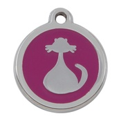 Tagiffany - My Sweetie Pink Cat Pet ID Tag