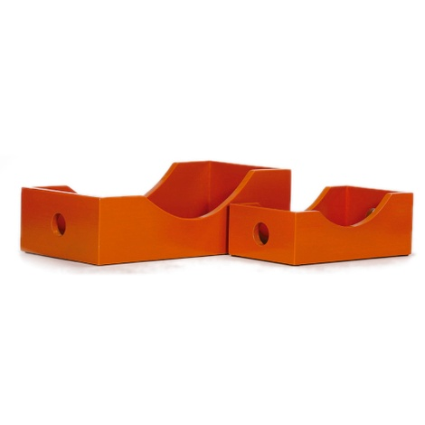 Contemporary Amber Toy Box
