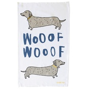 New House Textiles - Wooof Tea Towel