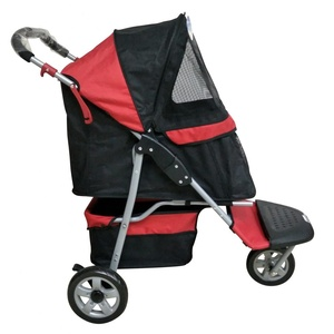 Pet Buggy - Black Red