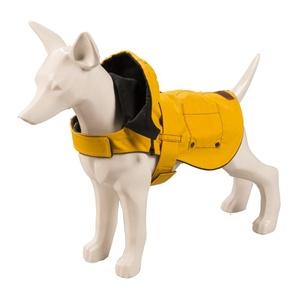 Hampstead Dog Hoodie – Mustard & Gunmetal