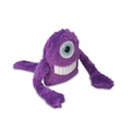 Purple Snore Monster Plush Dog Toy 2